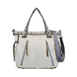 Women's Sherpani Pace Shoulder Bag Birch/White Snake