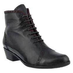 Women's Spring Step Jaru Bootie Gray Leather
