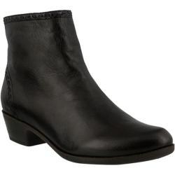Women's Spring Step Micaela Bootie Dark Brown Leather