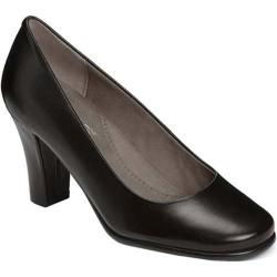 Women's Aerosoles Major Role Pump Black Leather
