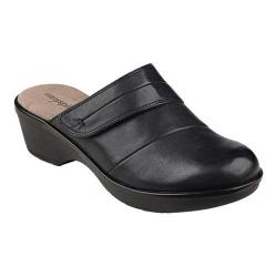 Women's Easy Spirit Pallen Clog Black Leather