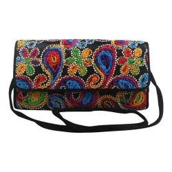 Women's J. Renee CL094 Convertible Clutch Black/Bright