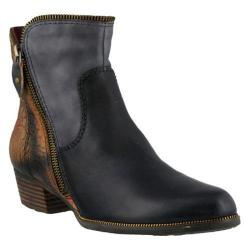Women's L'Artiste by Spring Step Erminia Bootie Black Multi Leather