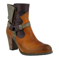 Women's L'Artiste by Spring Step Rikeet Boot Camel Multi Leather