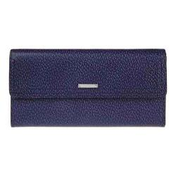 Women's Lodis Stephanie RFID Checkbook Clutch Wallet Midnight