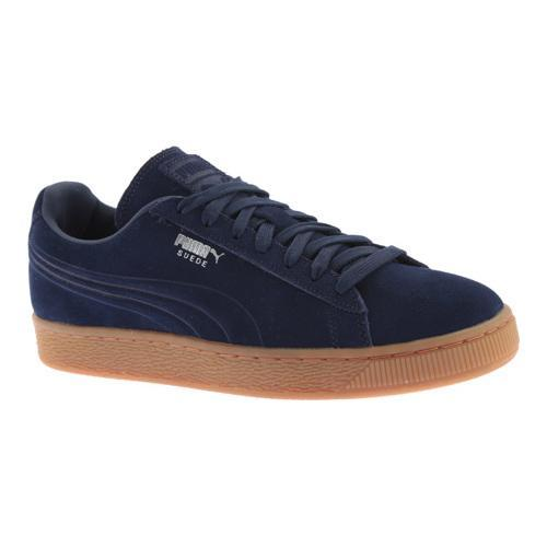 huge discount dba14 b904b Men's PUMA Suede Emboss Sneaker Peacoat/Gum