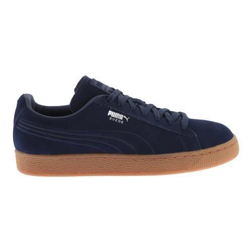 PUMA Suede Emboss Sneaker Peacoat/Gum