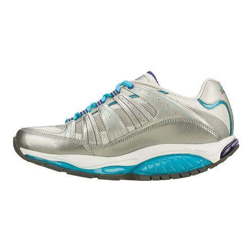 e1d90010c26d ... Thumbnail Women  x27 s Skechers Shape Ups Kinetix Response SRT Shoe  Silver Turquoise