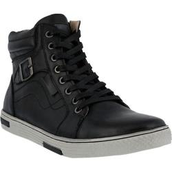 Men's Spring Step Humbert Lace Up Black Leather