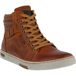Men's Spring Step Humbert Lace Up Camel Leather