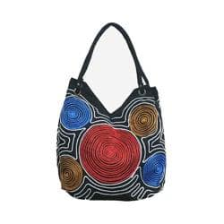 Women's Bamboo54 Hobo Embroidered Bag Black Spirals 67 https://ak1.ostkcdn.com/images/products/128/866/P19657746.jpg?impolicy=medium