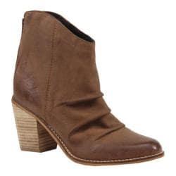 Women's Diba True Lost Girl Ankle Boot Cognac Leather