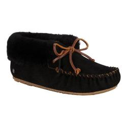 Women's EMU Moonah Moccasin Bootie Black Sheepskin