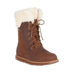 Women's EMU Shoreline Waterproof Boot Oak Leather