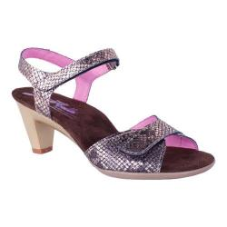 Women's Helle Comfort Eudora Sandal Salmon Leather