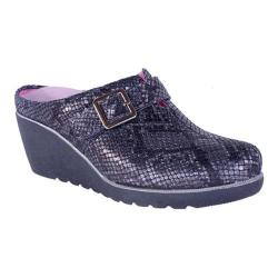 Women's Helle Comfort Gwen Clog Black Leather