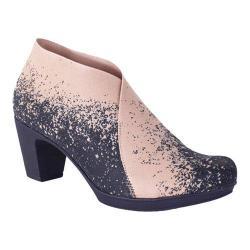 Women's Helle Comfort Vera Mid Heel Bootie Beige Microfiber