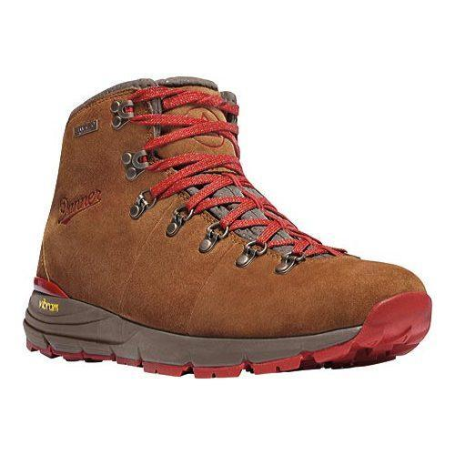 ... Men's Shoes; /; Men's Boots. Men's Danner Mountain 600 4.5in  Hiking Boot Brown/Red Suede