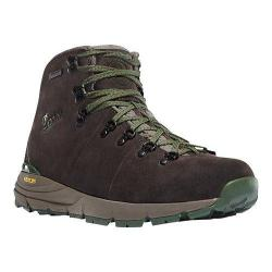 Men's Danner Mountain 600 4.5in Hiking Boot Brown/Green Suede