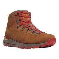 Men's Danner Mountain 600 4.5in Hiking Boot Brown/Red Suede