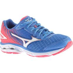Women's Mizuno Wave Rider 19 Running Shoe Palace Blue/Silver