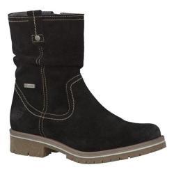 Women's Tamaris Adn Waterproof Boot Black Leather