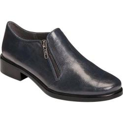 Women's A2 by Aerosoles Lavish Plain Toe Shoe Navy Faux Leather