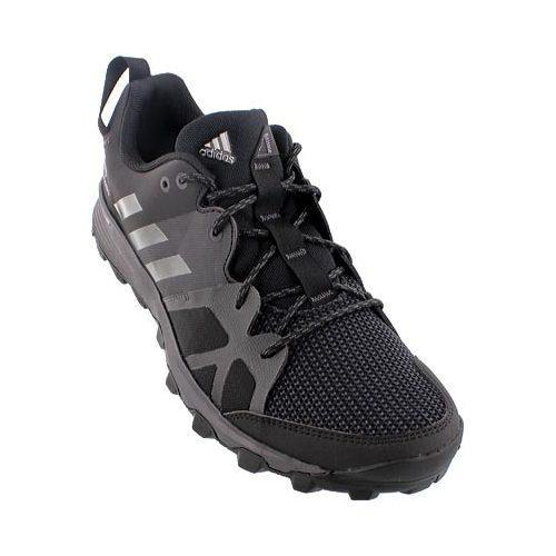 7d2a6c7f1fb289 Shop Men s adidas Kanadia 8 Trail Running Shoe Black Iron Metallic Utility  Black - Free Shipping Today - Overstock.com - 12747892