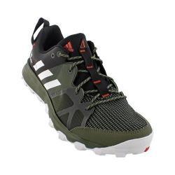 Men's adidas Kanadia 8 Trail Running Shoe Base Green/White/Black