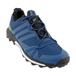 Men's adidas Terrex Agravic GORE-TEX Trail Running Shoe Tech Steel/Craft Blue/Unity Lime