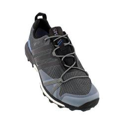 Men's adidas Terrex Agravic GORE-TEX Trail Running Shoe Vista Grey/Black/Shock Blue