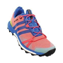 Women's adidas Terrex Agravic Trail Running Shoe Super Blush/Ray Blue/Vapour Pink