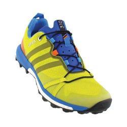 Men's adidas Terrex Agravic Trail Running Shoe Bright Yellow/Black/Unity Lime