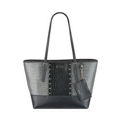 Women's Nine West Ava Tote Heather Grey/Black