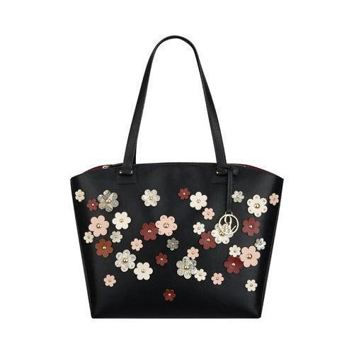 Women's Nine West Sheer Genius Tote LD Black/Multi Floral