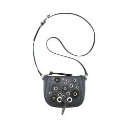 Women's Nine West Mini Evelina Mini Crossbody SE Black