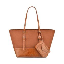 Women's Nine West Syne Tote LG New Saddle