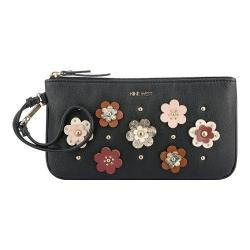 Women's Nine West Table Treasures Wristlet ED Black/Milk/Russet/New Cameo