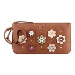 Women's Nine West Table Treasures Wristlet ED New Saddle/Milk/Russet