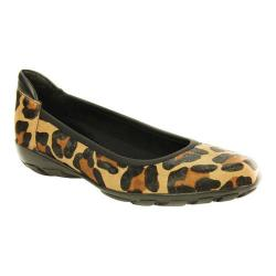 Women's VANELi Arvel Slip-On Camel Jag Hair/Black Nappa