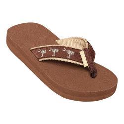 Children's Tidewater Sandals Choc Sand Palmetto Brown/Sand