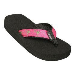 Children's Tidewater Sandals Pink & Green Palmetto Pink/Green
