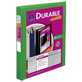 """Avery 17018 1"""" Durable Reference Binder Assorted Colors"""