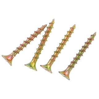 """Grip Rite 3GS5 5 Lb 3"""" #2 Phillips Gold Screws For General Construction"""