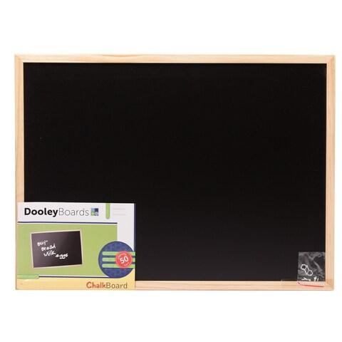 Dooley Boards 1824 CH 17 X 23 Wood Framed Chalkboard