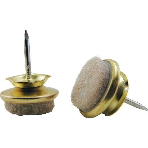 Stanley Hardware 193215 Satin Brass Closet Rod Sockets 2 Ct