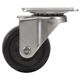 "Waxman Consumer Group 4299055 3"" Rubber Plate Swivel Caster"