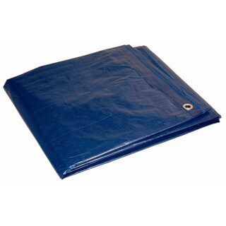Foremost Cut Size Tarp Blue 80057 5' X 7' 5 Mil Blue Cut Size Tarp