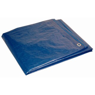 Foremost Dry Top Tarp Blue 01216 12' X 16' 7 Mil Blue Dry Top Tarp