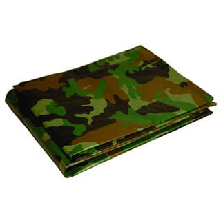 Foremost Dry Top Tarp Camouflage 40810 8' X 10' 7 Mil Green Tarp|https://ak1.ostkcdn.com/images/products/12800603/P19571114.jpg?impolicy=medium